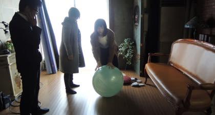 販促用の撮影......モデルは女優の松本若菜さん.......早めの..._b0194185_22284612.jpg