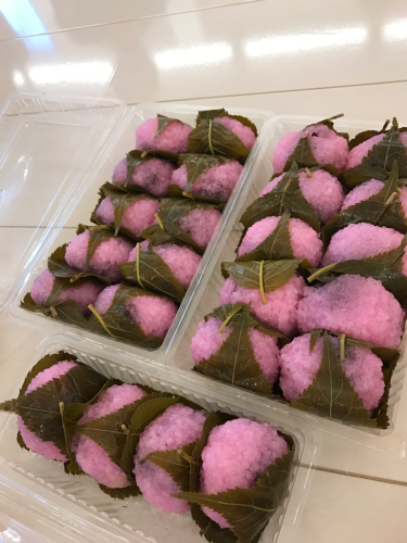 さっちゃん特製⭐️桜餅🌸_d0256587_21023278.jpg