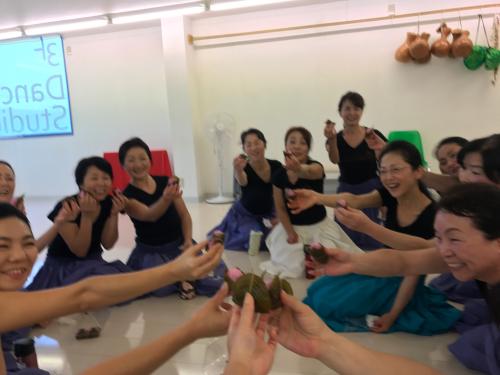 さっちゃん特製⭐️桜餅🌸_d0256587_21023462.jpg
