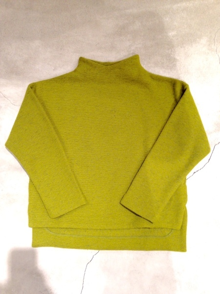 HIGH NECK WIDE CUTSEWN_f0369188_14444031.jpg