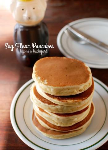 大豆粉パンケーキに挑戦_b0253205_04411665.jpg