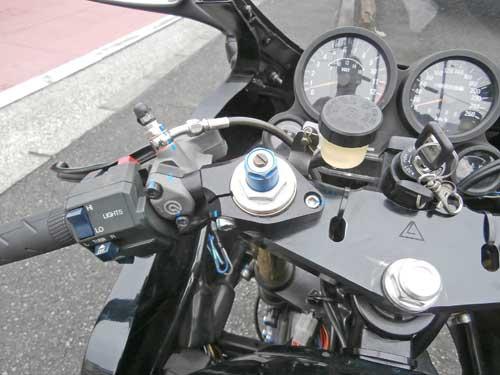 soサン号 GPZ900Rニンジャのメンテ&仕様変更が完成♪ (Part4)_f0174721_22441759.jpg