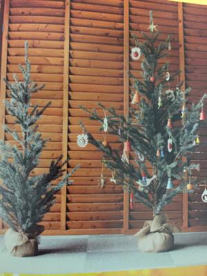 本物みたいな♡クリスマスツリー_c0207638_19360317.jpg