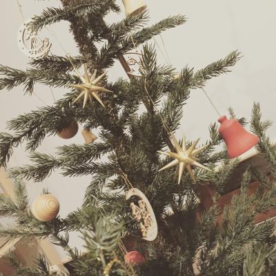 本物みたいな♡クリスマスツリー_c0207638_19360379.jpg