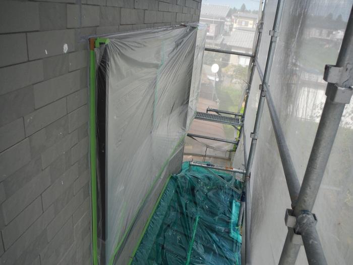 入居前リフォーム ~外壁塗り替え。_d0165368_2581498.jpg
