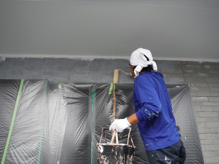 入居前リフォーム ~外壁塗り替え。_d0165368_2585462.jpg