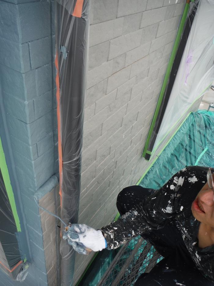 入居前リフォーム ~外壁塗り替え。_d0165368_2593054.jpg