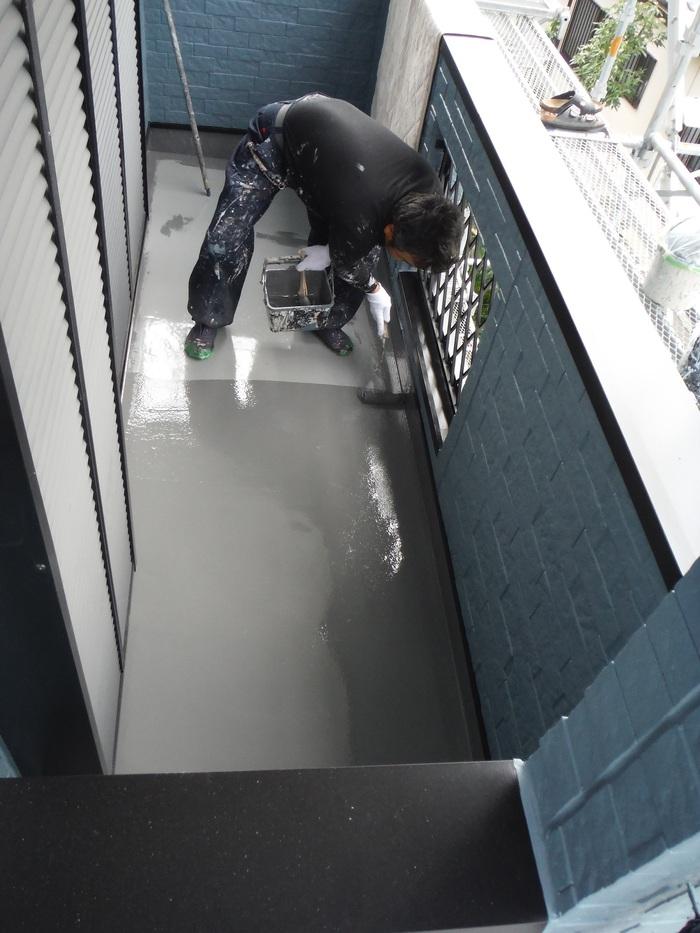 入居前リフォーム ~外壁塗り替え。_d0165368_305736.jpg