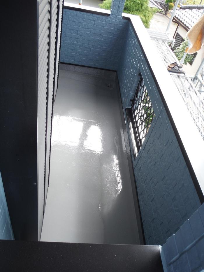 入居前リフォーム ~外壁塗り替え。_d0165368_31151.jpg