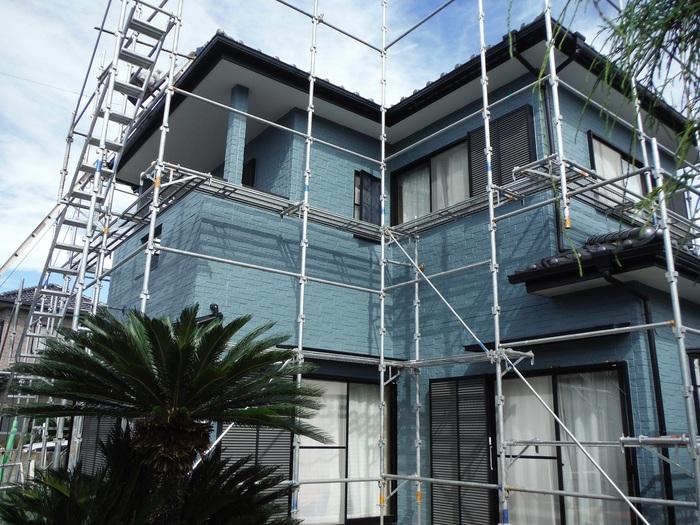入居前リフォーム ~外壁塗り替え。_d0165368_373667.jpg