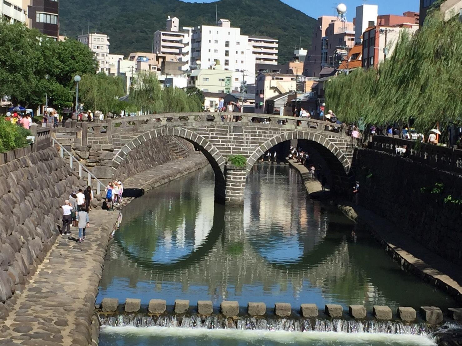 眼鏡橋と龍踊り_b0305770_17444413.jpg