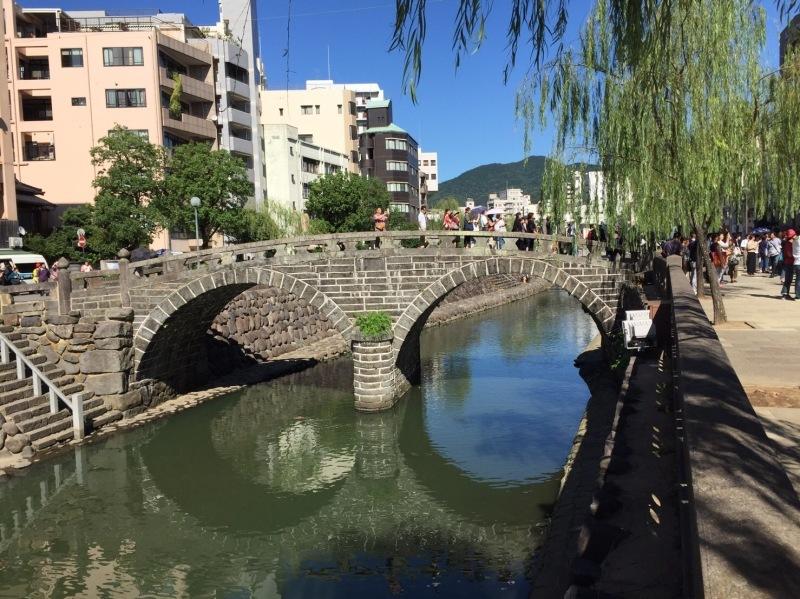 眼鏡橋と龍踊り_b0305770_17463923.jpg