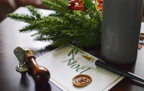 クリスマススワッグとカリグラフィー、シーリングワックスも体験しましょう!_b0105897_01231891.jpg