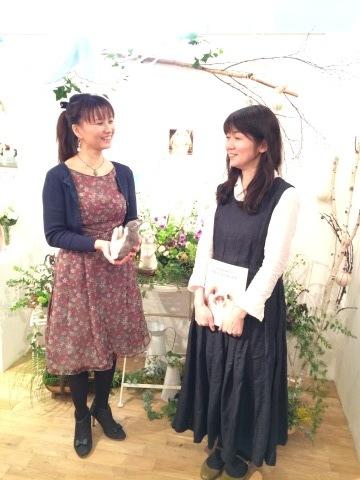 畑牧子さんの出版記念作品展『リアルかわいい羊毛フェルトのうさぎ』@南青山Gallery Paletteへ_a0157409_14233041.jpeg