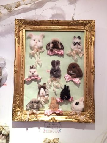 畑牧子さんの出版記念作品展『リアルかわいい羊毛フェルトのうさぎ』@南青山Gallery Paletteへ_a0157409_14483419.jpeg