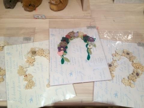 畑牧子さんの出版記念作品展『リアルかわいい羊毛フェルトのうさぎ』@南青山Gallery Paletteへ_a0157409_16050348.jpeg