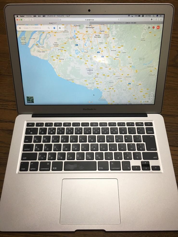 初MacbookAir 導入_b0297818_17315271.jpg