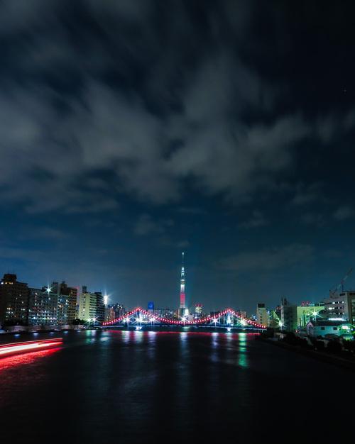 2016.11.18スカイツリーと清洲橋(隅田大橋)_e0321032_15393054.jpg