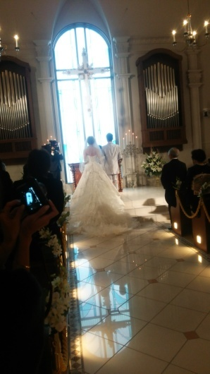 ステキな結婚式でした( ´∀`)_c0350439_16321404.jpg