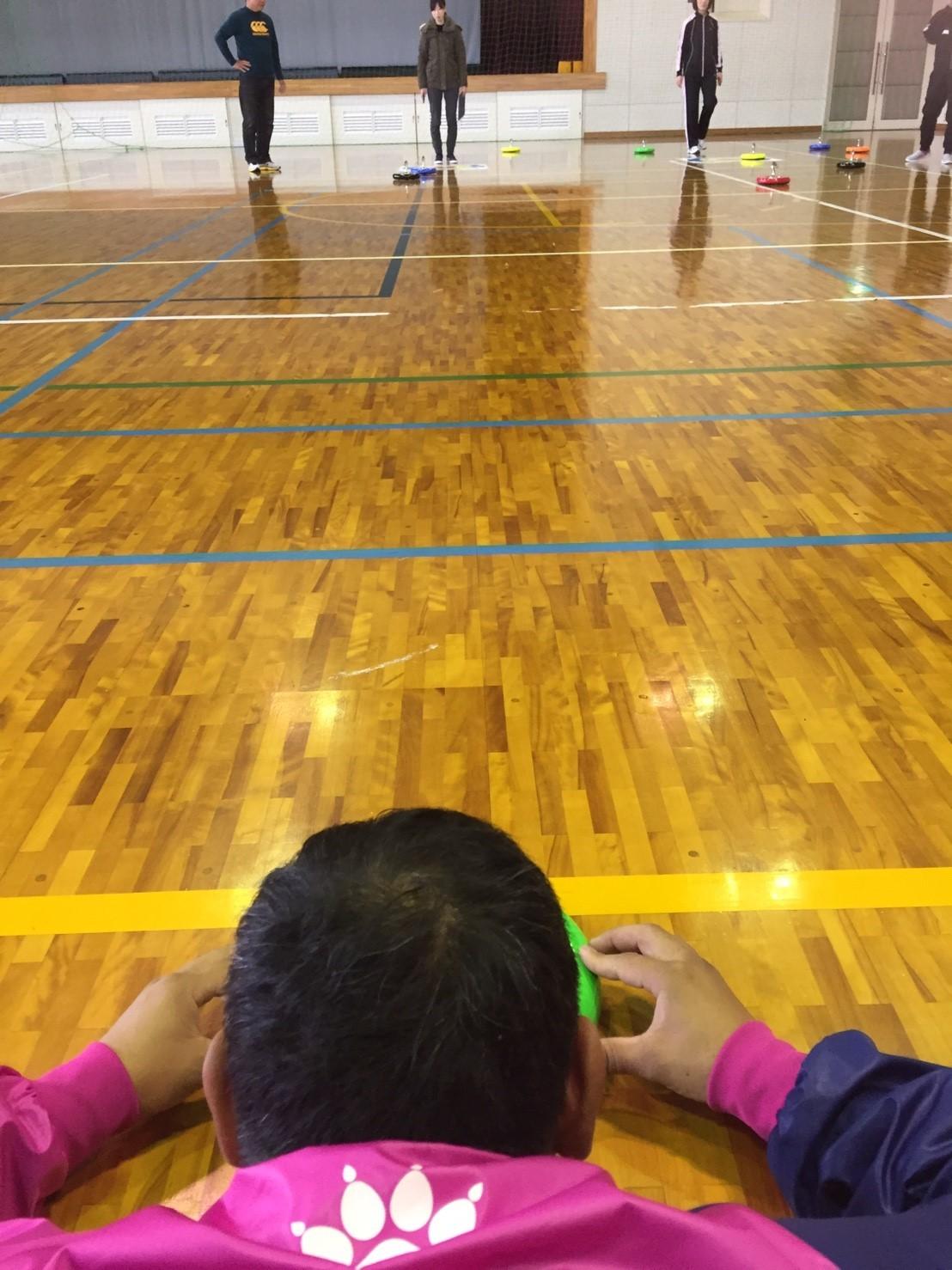 2016年11月カローリング&バトミントン練習会_c0150273_03423444.jpg