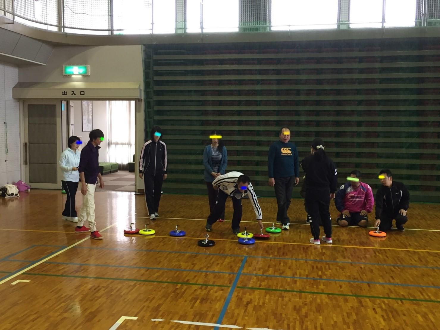 2016年11月カローリング&バトミントン練習会_c0150273_03593256.jpg