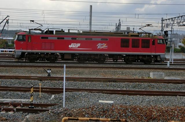 鉄道写真、東海道本線岸辺駅にて・・・・レッドサンダー、EF65の写真撮影_d0181492_17064194.jpg