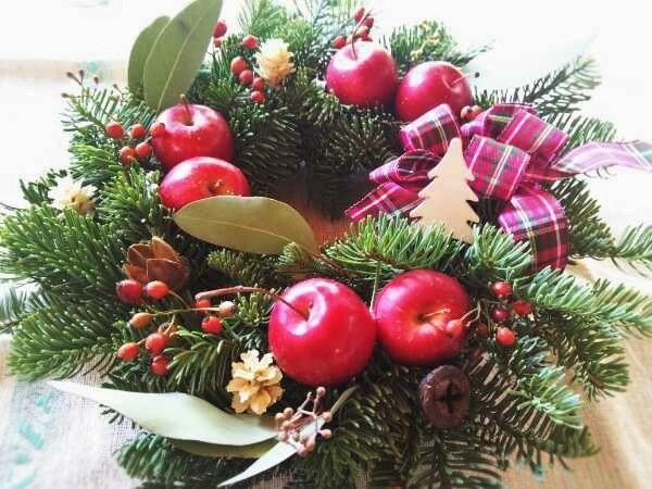 クリスマスリースを作りませんか!(^^)!_f0116297_20250589.jpg