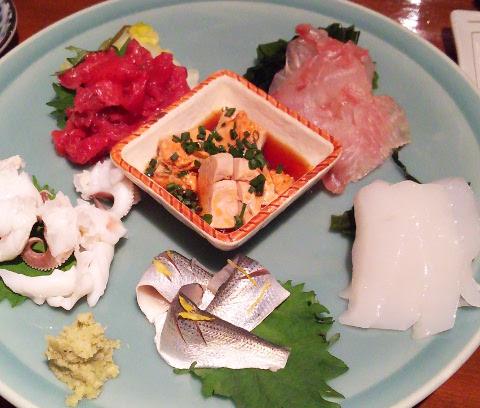 ニューヨークからのお客さまを初日に新橋へ♪「うまい魚と天ぷら ジロー」_b0051666_7565957.jpg