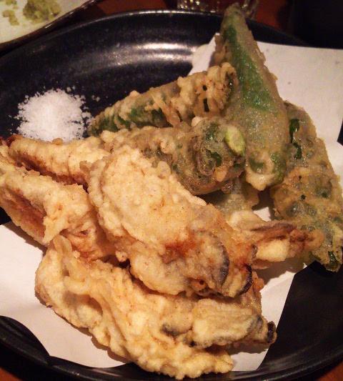 ニューヨークからのお客さまを初日に新橋へ♪「うまい魚と天ぷら ジロー」_b0051666_7574874.jpg