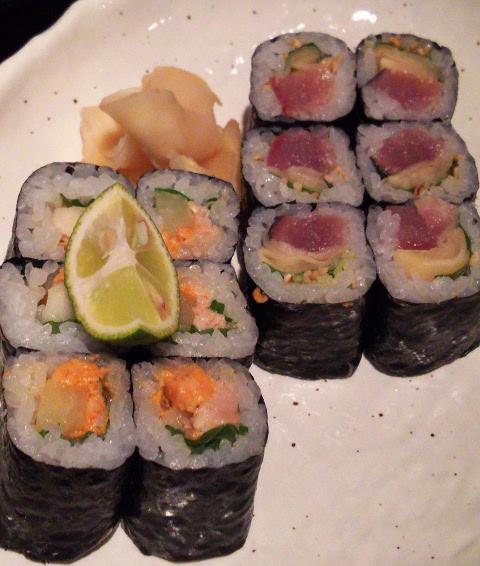 ニューヨークからのお客さまを初日に新橋へ♪「うまい魚と天ぷら ジロー」_b0051666_7582283.jpg