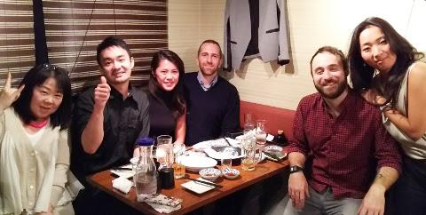 ニューヨークからのお客さまを初日に新橋へ♪「うまい魚と天ぷら ジロー」_b0051666_7583017.jpg