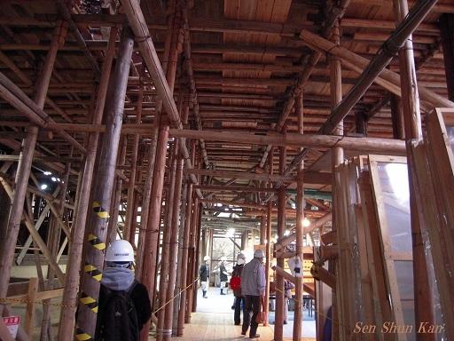 文化財建造物の保存修理 仁和寺観音堂 2016年11月6日_a0164068_14302565.jpg