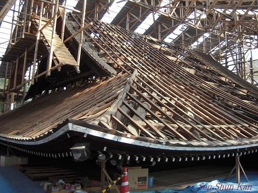 文化財建造物の保存修理 仁和寺観音堂 2016年11月6日_a0164068_14315953.jpg