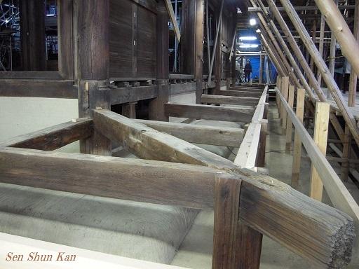 文化財建造物の保存修理 仁和寺観音堂 2016年11月6日_a0164068_14403557.jpg