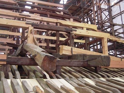 文化財建造物の保存修理 仁和寺観音堂 2016年11月6日_a0164068_15074153.jpg