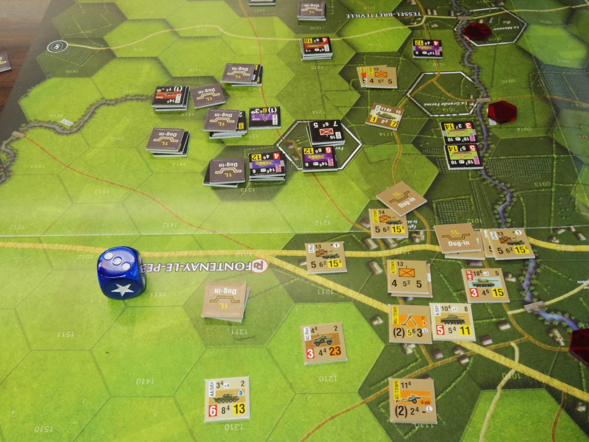 なんやかんや今期一番だったかもしれん・・オペ・ドン➊シナリオ18.T11『Breakthrough』          18.14『Battle for La Ferme St.Nicolas』_b0173672_19450820.jpg