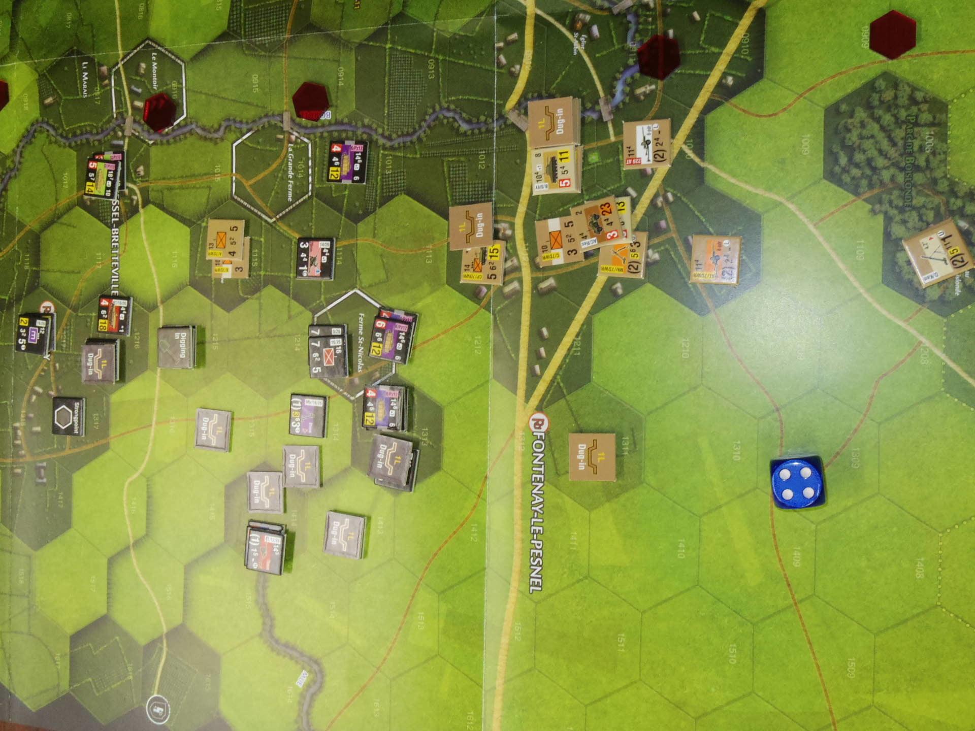 なんやかんや今期一番だったかもしれん・・オペ・ドン➊シナリオ18.T11『Breakthrough』          18.14『Battle for La Ferme St.Nicolas』_b0173672_19450981.jpg