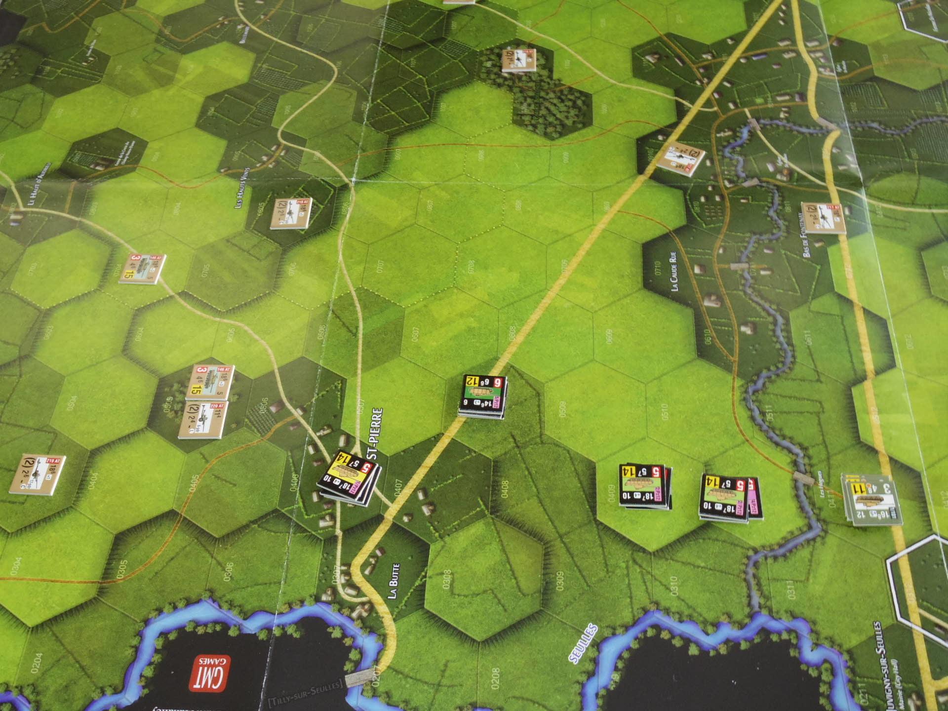 なんやかんや今期一番だったかもしれん・・オペ・ドン➊シナリオ18.T11『Breakthrough』          18.14『Battle for La Ferme St.Nicolas』_b0173672_19451424.jpg
