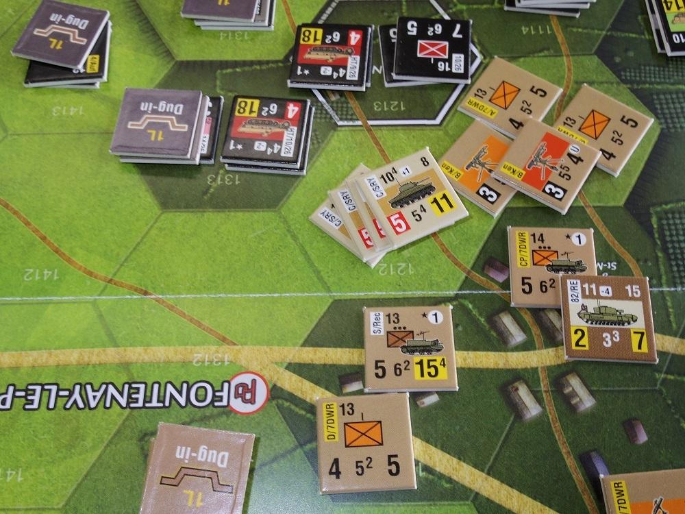 なんやかんや今期一番だったかもしれん・・オペ・ドン➊シナリオ18.T11『Breakthrough』          18.14『Battle for La Ferme St.Nicolas』_b0173672_19452160.jpg
