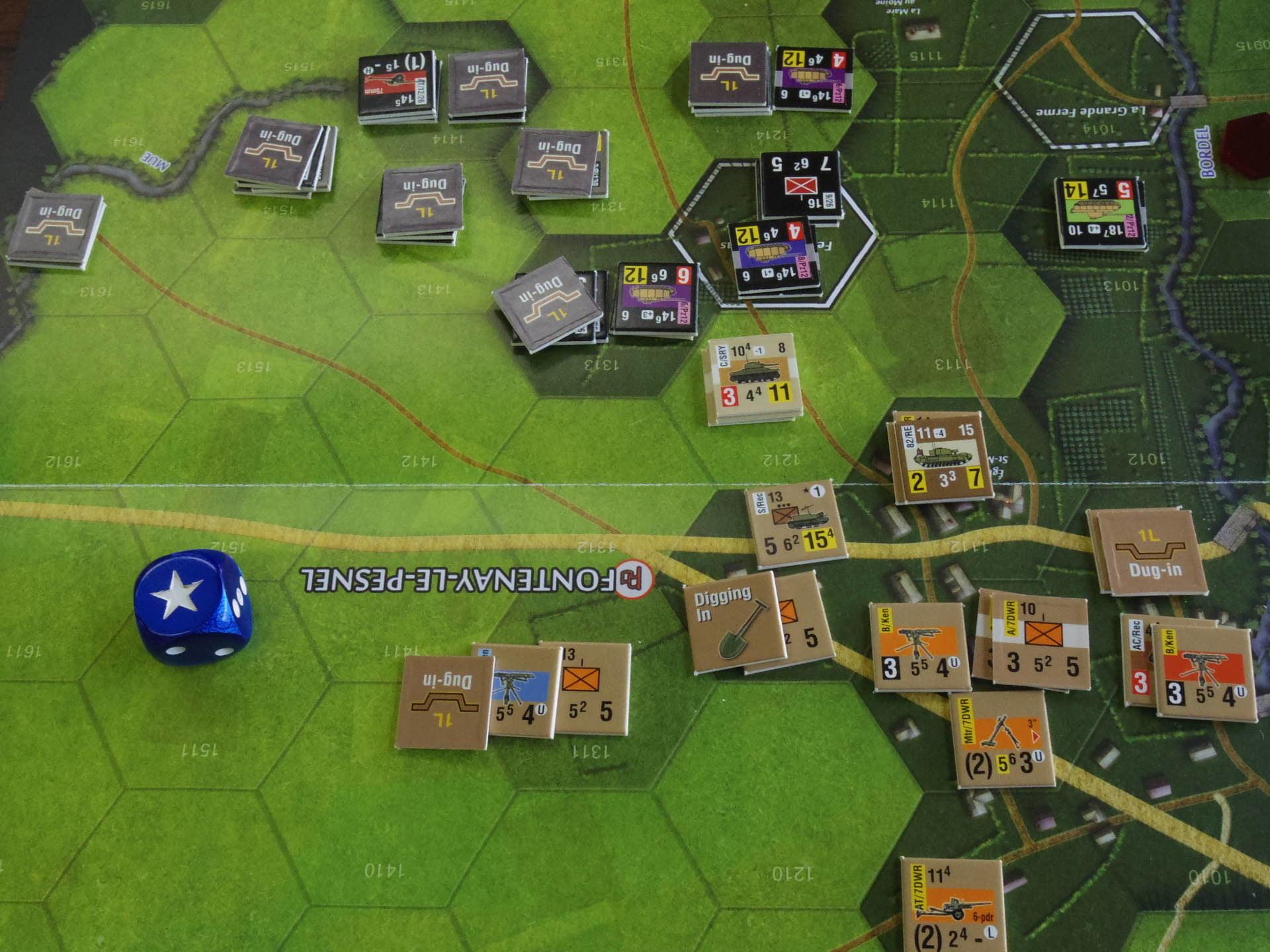 なんやかんや今期一番だったかもしれん・・オペ・ドン➊シナリオ18.T11『Breakthrough』          18.14『Battle for La Ferme St.Nicolas』_b0173672_19452295.jpg