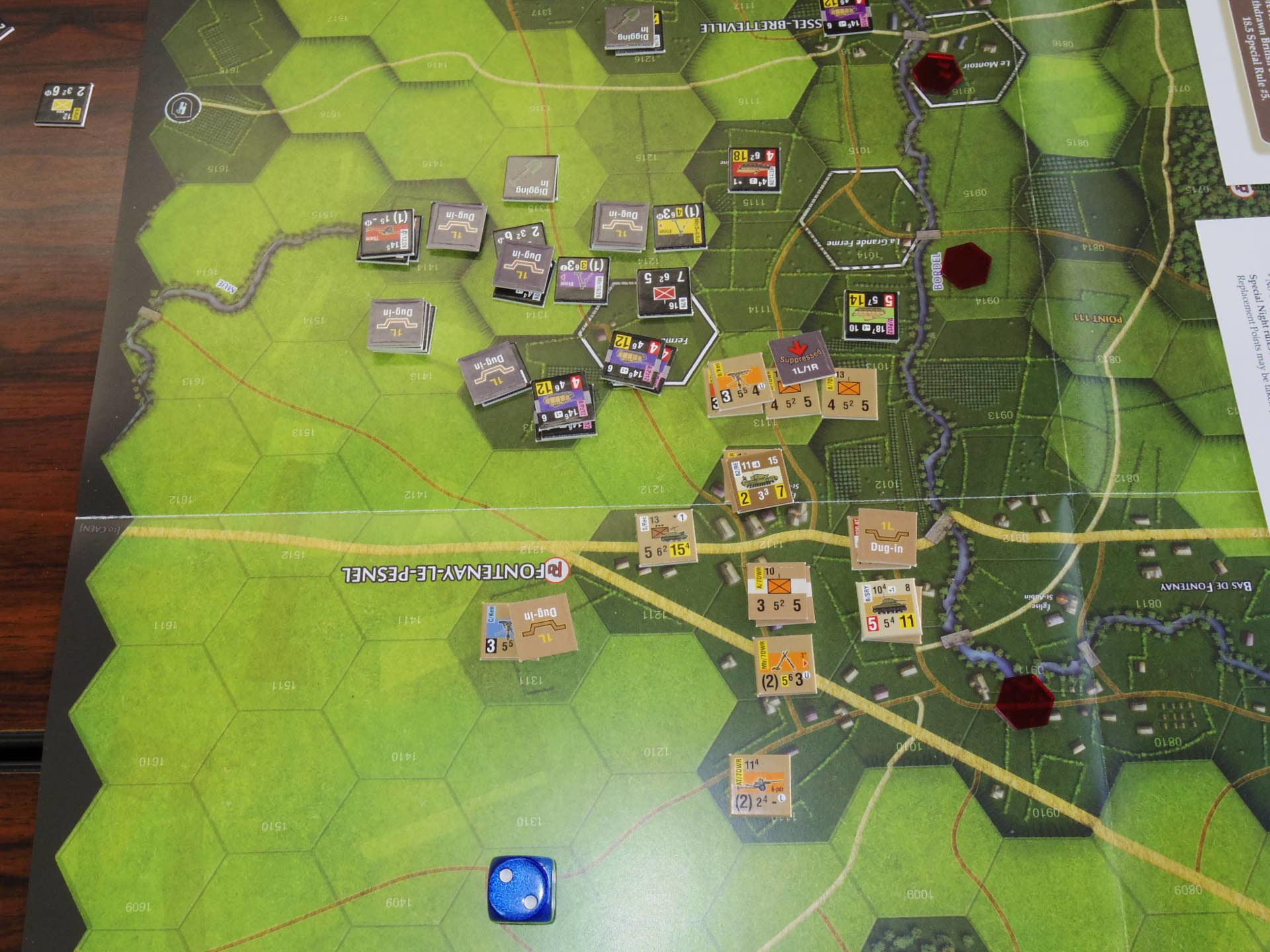 なんやかんや今期一番だったかもしれん・・オペ・ドン➊シナリオ18.T11『Breakthrough』          18.14『Battle for La Ferme St.Nicolas』_b0173672_19452390.jpg