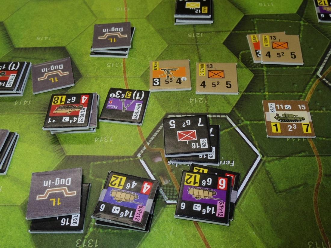 なんやかんや今期一番だったかもしれん・・オペ・ドン➊シナリオ18.T11『Breakthrough』          18.14『Battle for La Ferme St.Nicolas』_b0173672_19452432.jpg