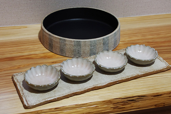 弁当を楽しむ薩摩焼の器_a0043405_21345876.jpg