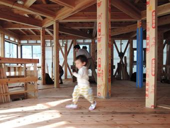 稲田堤の家でかけっこ・・・。_c0195909_13271122.jpg