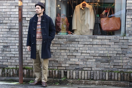 "ANACHRONORM ""CHINO TAPERED TROUSERS\"" ご紹介_f0191324_08580268.jpg"