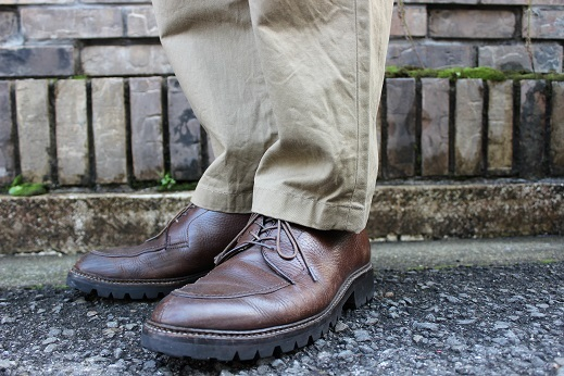 "ANACHRONORM ""CHINO TAPERED TROUSERS\"" ご紹介_f0191324_08591148.jpg"