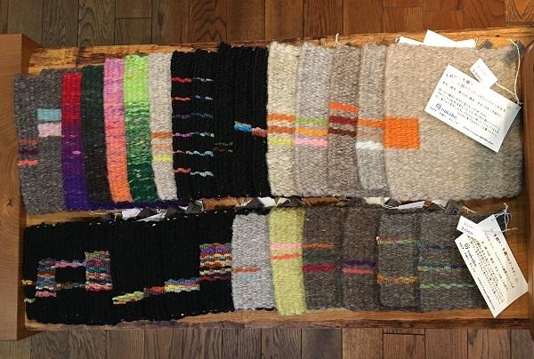 nakoboさんより手紡ぎ、手織りのコースター_b0100229_13053444.jpg