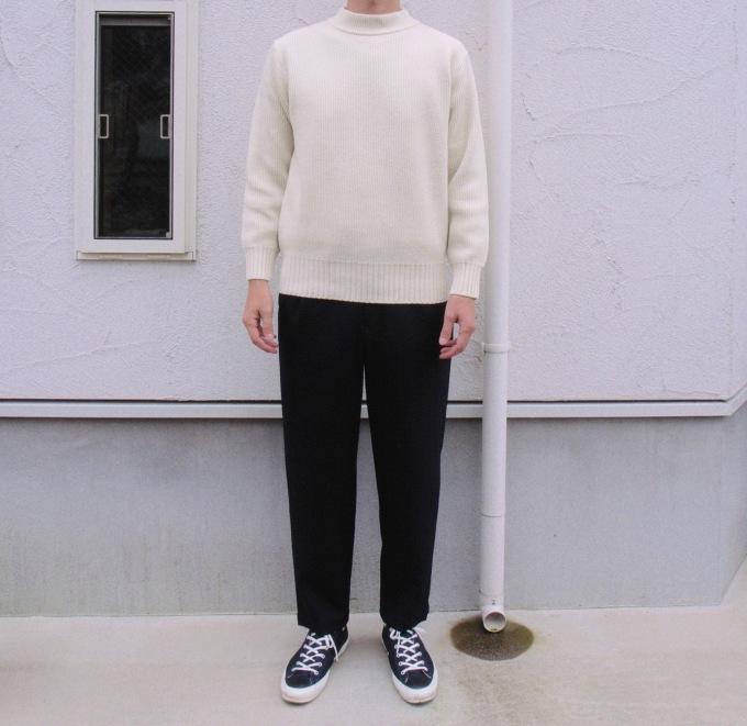 STILL BY HAND ウール混パンツ 穿いてみました。_d0334060_14444581.jpg