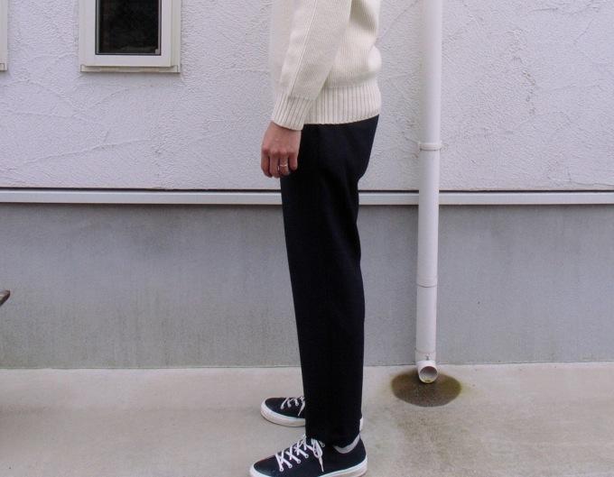 STILL BY HAND ウール混パンツ 穿いてみました。_d0334060_14450838.jpg