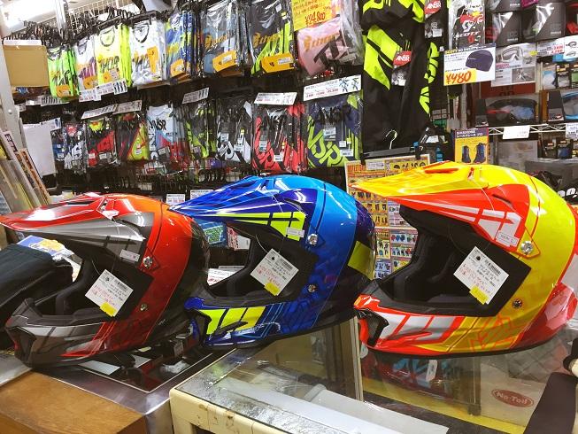キッズサイズのHJCヘルメットが各色入荷しました!_f0062361_17261810.jpg
